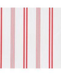 Thomas Mason Red And White Langham Shirting Fabric