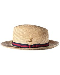 Muhlbauer Natural Finely Braided Straw Graf Udo Hat