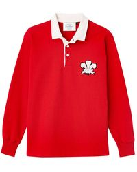 Rowing Blazers - Red Cotton Wales 1905 Authentic Heavyweight Rugby Jersey. - Lyst