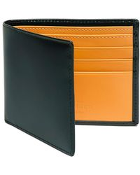 Ettinger - Dark Green And London Tan Billfold Wallet - Lyst