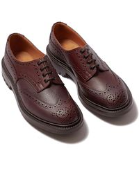 Tricker's Ilkley Brown Zug Grain Leather Wingtip Brogues