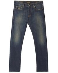 Moorer - Indigo 4008 Wash Jeans - Lyst