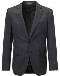 Cifonelli - Charcoal Single-breasted Two Piece Wool Suit - Lyst