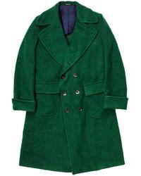 Rubinacci Forest Green Casentino Ulster Coat