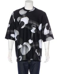 Christopher Kane - Molecule Print Neoprene T-shirt W/ Tags Black - Lyst