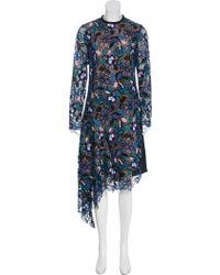 df93f205db7d2 Self-Portrait - Elora Midi Dress W/ Tags - Lyst