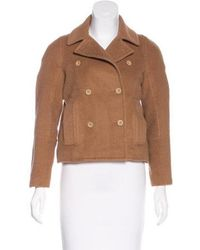 Reed Krakoff - Double-breasted Short Coat - Lyst