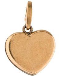 Cartier - 18k Heart Charm Yellow - Lyst