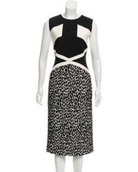 Sally Lapointe - Sleeveless Midi Dress W/ Tags - Lyst