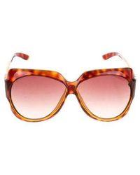 Miu Miu - Miu Oversize Tortoiseshell Sunglasses - Lyst
