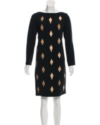 OSMAN - Embroidered Knee-length Dress - Lyst