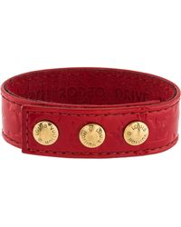 Louis Vuitton - Vip Snap Bracelet Red - Lyst
