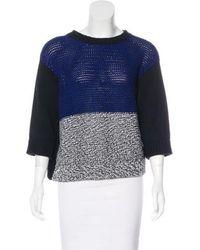 Stella McCartney - Colorblock Button-up Sweater - Lyst