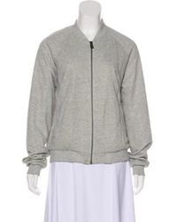 Anine Bing - Metallic Long Sleeve Jacket Grey - Lyst