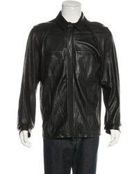 Alexander Wang - Lambskin Shirt Jacket - Lyst