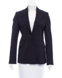 Karen Millen - Tailored Wool-blend Blazer - Lyst