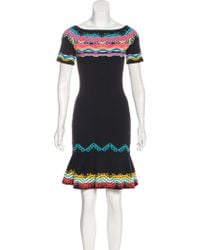 Peter Pilotto - Intarsia Mini Dress - Lyst