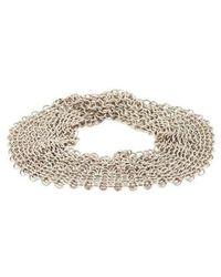 Tiffany & Co. - Mesh Bracelet Silver - Lyst