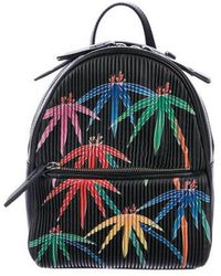 Les Petits Joueurs - 2018 Baby Mick Palms Embroidered Backpack Black - Lyst