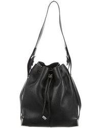 Alexander Wang - Prisma Drawstring Bucket Bag Black - Lyst