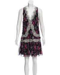 Wes Gordon - Lace-trimmed Sleeveless Dress - Lyst