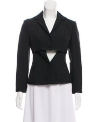 Narciso Rodriguez - Wool Tailored Jacket - Lyst