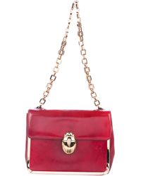 Tory Burch - Scarab Frame Shoulder Bag Red - Lyst