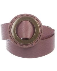 MAX&Co. - Leather Waist Belt - Lyst