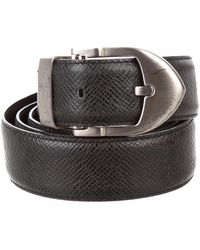 3ae8d5c1c61f Lyst - Louis Vuitton Epi Classique Belt Black in Metallic for Men