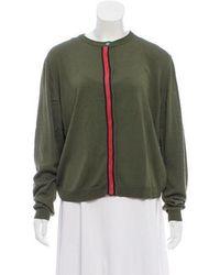 Trademark - Long Sleeve Knit Cardigan Olive - Lyst
