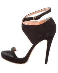 Viktor & Rolf - Platform Ankle Strap Sandals - Lyst