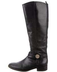0377c4451c5d Lyst - Tory Burch Sullivan Knee-high Boots in Black
