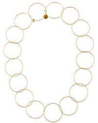 Stella McCartney - Hooped Choker Necklace Rose - Lyst