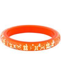 Louis Vuitton - Narrow Inclusion Bangle Orange - Lyst