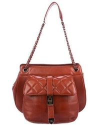 e5433ddb947c Lyst - Chanel 1 Pink Beige Suede Leather