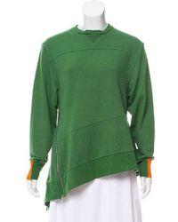 Preen Line - Asymmetrical Pullover Sweatshirt - Lyst