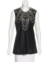 Naeem Khan - Embellished Silk - Lyst
