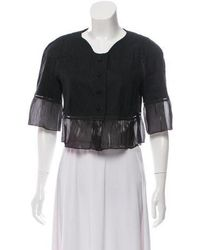 Rochas - Cropped Evening Jacket - Lyst