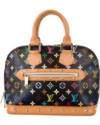 Louis Vuitton - Multicolore Alma Black - Lyst