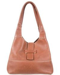 Loro Piana - Leather Bellevue Tote Brown - Lyst