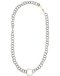 Melissa Joy Manning - Circle Link Chain Necklace Silver - Lyst