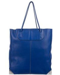 Alexander Wang - Prisma Leather Tote Silver - Lyst