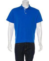 Michael Kors - Woven Polo Shirt - Lyst