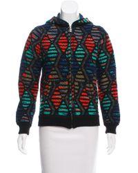 Lucien Pellat Finet - Patterned Knit Jacket - Lyst