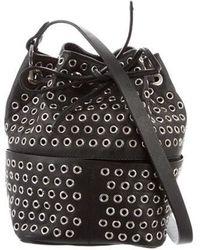 Tamara Mellon - Leather Bucket Bag Black - Lyst