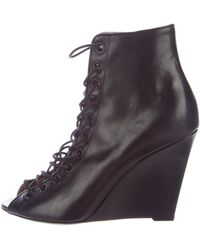 Givenchy - Bondage Wedge Sandals - Lyst