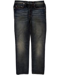 Dior Homme - Distressed Skinny Jeans - Lyst