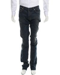 Dior Homme - Distressed Slim-fit Jeans W/ Tags - Lyst