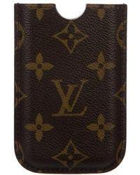 Louis Vuitton - Monogram Iphone 3g Hardcase Brown - Lyst
