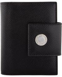 BVLGARI - Leather Address Book Black - Lyst